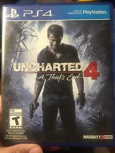 Uncharted 4 PS4 (price drop)