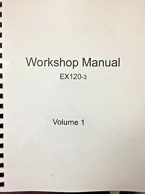 Hitachi Ex120-3 Excavator Service Technical Workshop Manual Shop Km135e00
