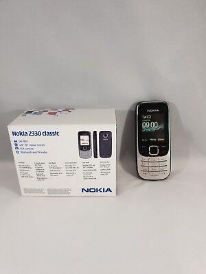 Nokia  Classic 2330 Silber/Schwarz ohne Simlock Handy klassisch Sammlung OVP