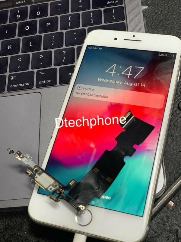 Iphone 6,6s,7,7plus 8,8plus Charger Port Repair Service Or Battery  Service