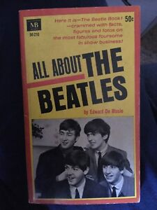 All About The Beatles paperback from 1964