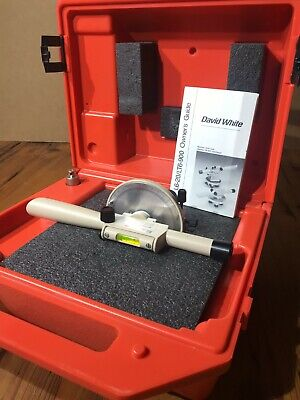 David White Instruments Meridian L6-20 Transit Level Surveying W Accessories