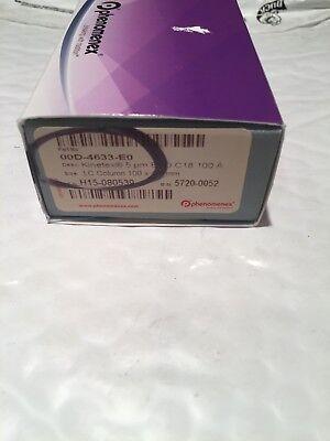New Phenomenex Kinetex 5 U C18 100a 100 X 4.6 Mm Hplc Column