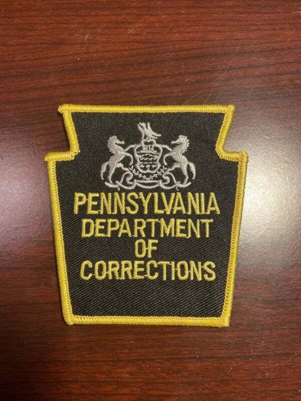 Pennsylvania Department of Corrections Patch