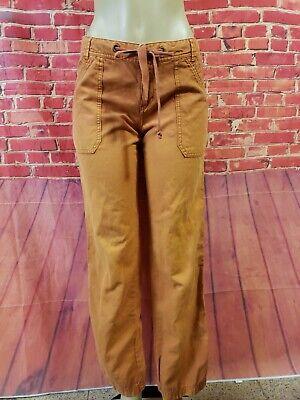 Anthropologie Hei Hei Burn Orange Women's Pants Size 8