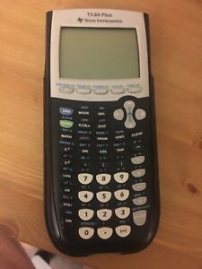 T1-84 Plus graphical calculator by Texas Instruments