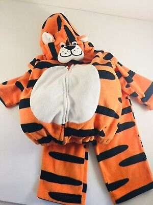 Carters Halloween Costume Little Tiger Infant  2 PC  6-9 MONTHS - Little Boy Tiger Costume