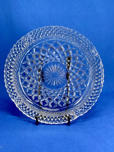 """Anchor Hocking Wexford Clear Glass 8.5"""" Ashtray"""