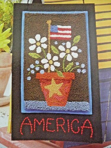 AMERICA THE BEAUTIFUL NEEDLEPUNCH PATTERN - ALICE OKON