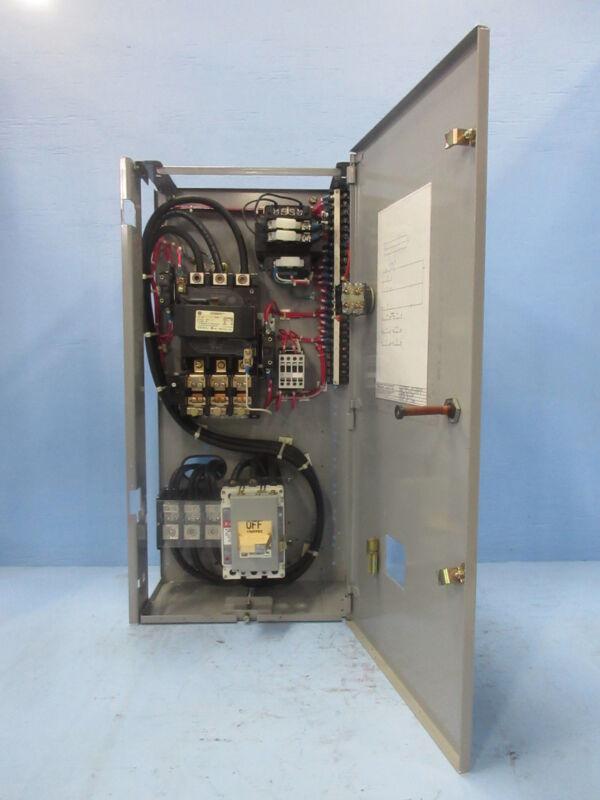 "General Electric GE 8000 Size 4 Starter 150 Amp Breaker Type 30"" MCC Bucket 150A"