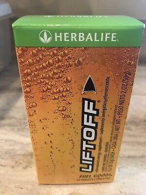 1 HERBALIFE - LiftOff - Box Ignite Me Orange 10 Tablets New