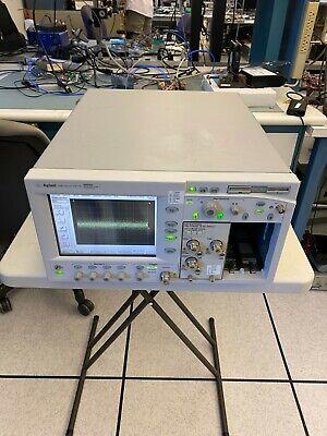 Agilent Infiniium Dca 86100a Digital Oscilloscope Hp 54752a 50ghz 2ch Module