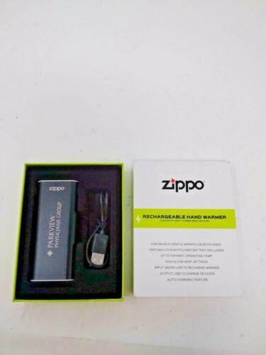 Zippo 2 Hour USB Rechargeable Hand Warmer (Black) Z4B16