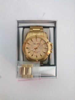 MARC ECKO mens gold watch  Smeaton Grange Camden Area Preview