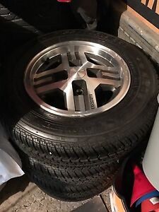 1985 Mazda RX7 wheels and tires *MINT*
