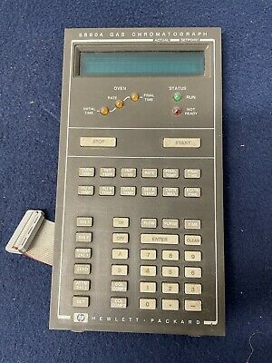 Hewlett Packard Hp 5890a Gas Chromatograph Display Controller Control Panel