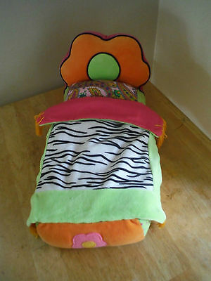 Groovy Girl Flower Power Zebra Bed for sale  La Mesa