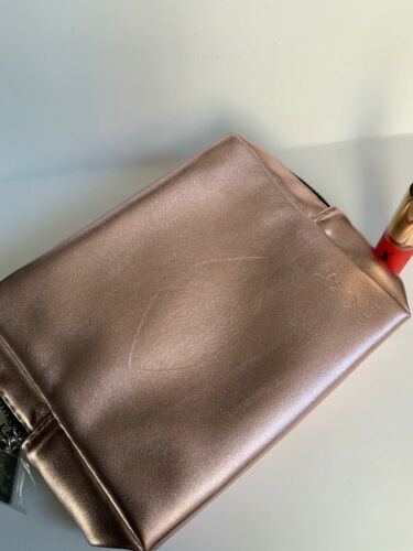 YSL YvesSaintLaurent Rose Gold Clutch / Pouch / Make Up Bag  **BNIP**