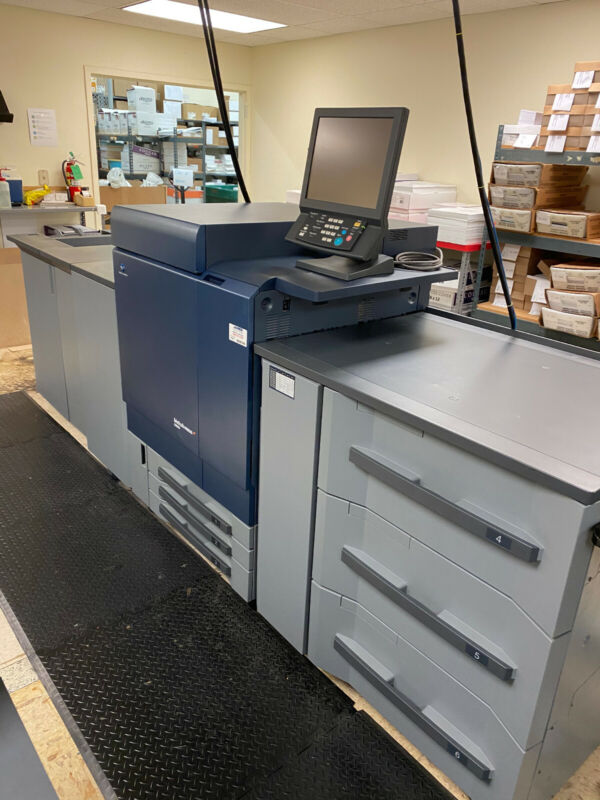 Konica Milolta Bizhub Press C8000 Digital Color Printer
