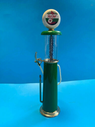 Old Vtg Texaco Sky Chief Miniature Gas Pump Fuel Dispenser With Globe Replica