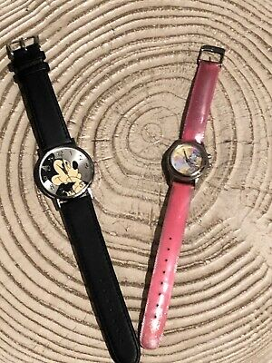 Vintage Minnie And Mickey Mouse Watches