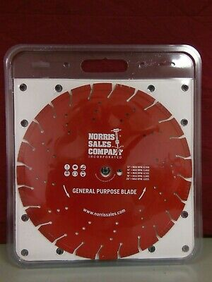 Norris 14 General Purpose Segmented Diamond Saw Blade For Concretemasonry