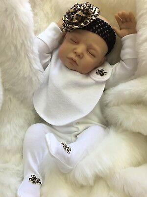 "CHERISH DOLLS NEW REBORN DOLL BABY ARIA FAKE BABIES REALISTIC 22"" NEWBORN GIRL"