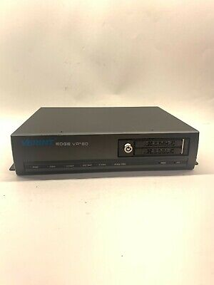 Verint Edgevr 80 Network Video Recorder Analogip Poe - Tested