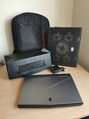 Alienware Laptop 15 r3 PLUS Graphics Amplifier, Lap Stand, Fan & Bag