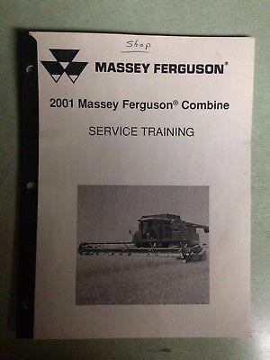 Massey Ferguson 2001 Combine Service Training Manual