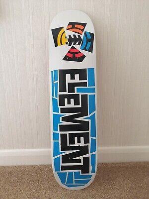 Element Skateboard Deck - 7.875 - Rare Classic Old Design
