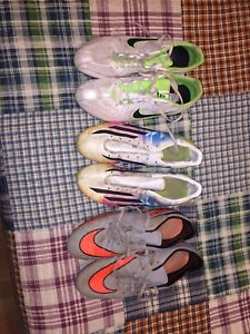 Track and field and soccer cleats 40$ Each