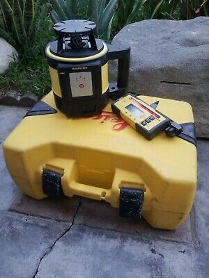 Leica Rugby 810 Self Levering Rotating Laser Level