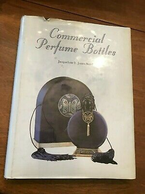 Commercial Perfume Bottle HB book by Jacqueline North-Jones 1987 reference guide