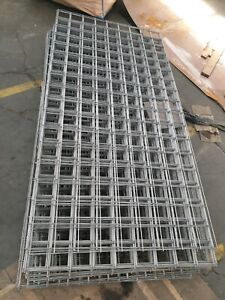 wired mesh welded good 4mm fence plate. about 197cm x 97cm