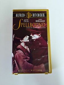 ALFRED HITCHCOCK'S SPELLBOUND ON VHS (CLAMSHELL CASE) London Ontario image 1