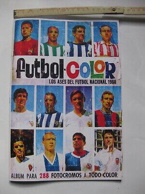 STICKER ALBUM CROMOS FACSIMIL FUTBOL COLOR LOS ASES BRUGUERA 1967 1968