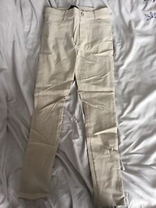 Pantalon extensible beige