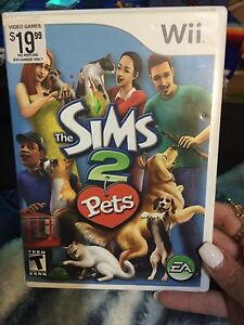 SIMS 2 - PETS WII