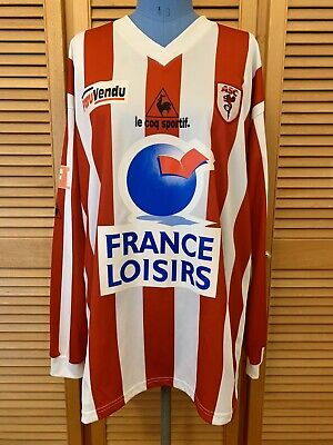 AS Cannes unknow season #18 match worn football shirt jersey maillot camiseta