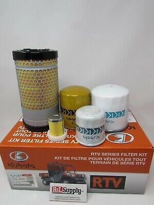 Genuine Oem Kubota Rtvx900 Filter Kit 77700-08715