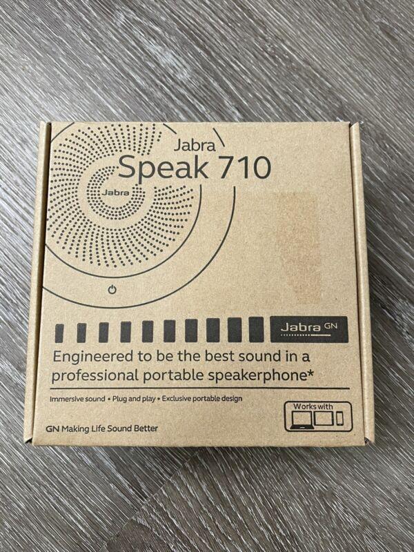 NEW Jabra 710 Speak (710 7710-309) skype, bluetooth-BLACK