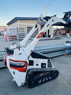 2021 Bobcat Mt55 Walk Behind Mini Skid Steer Loader Track With Warranty