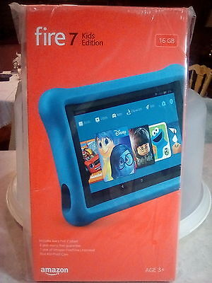 Fire 7 Kids Edition Tablet 7  Display 16Gb Blue Kid Proof 2017 Release