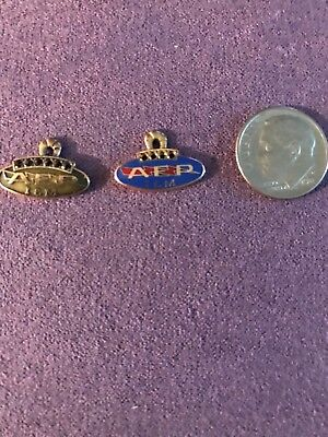 American electric power company indiana and Michigan 10k gold service pins