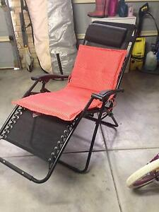 Reclining chair with cushion - never used Winthrop Melville Area Preview