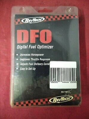 NEW RevTech Motorcycle Fuel Injection Control Box 58140 Digital Fuel Optimizer  (Digital Fuel Injection)