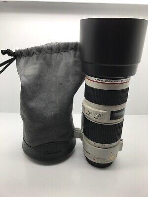 Canon Zoom Lens EF 70-200mm f/4 L IS USM