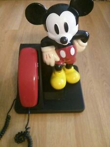 MICKEY MOUSE TELEPHONE vintage collectable