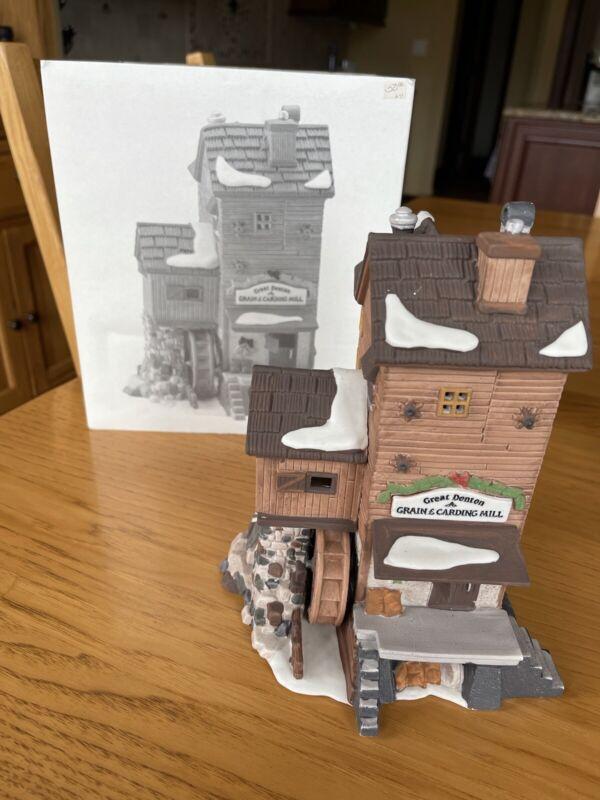 heritage village collection depart. 56 Dickens Village Series Great Denton Mill